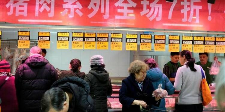 L'inflation chinoise a ralenti en avril