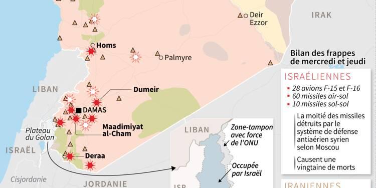 """L'Iran accuse Israël de frapper en Syrie sous de faux """"prétextes"""""""