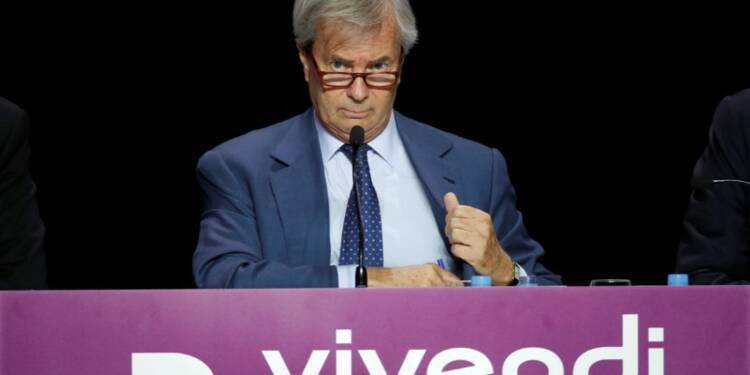 Bolloré renforce son emprise sur Vivendi, monte à 24% du capital