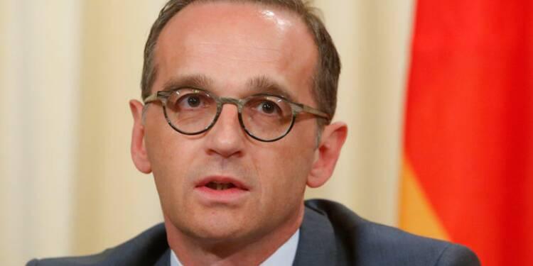 Les entreprises allemandes en Iran difficiles à protéger selon Maas