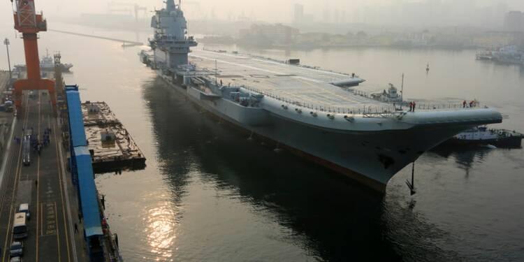 Le premier porte-avions 100% chinois a appareillé pour des essais en mer