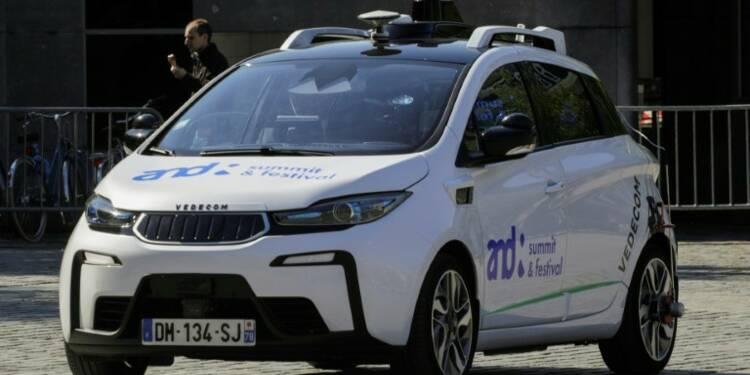 La France annonce sa stratégie dans la course aux voitures autonomes
