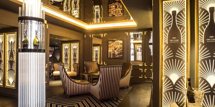 La Bubble Suite, le bar à champagne le plus classe de Paris