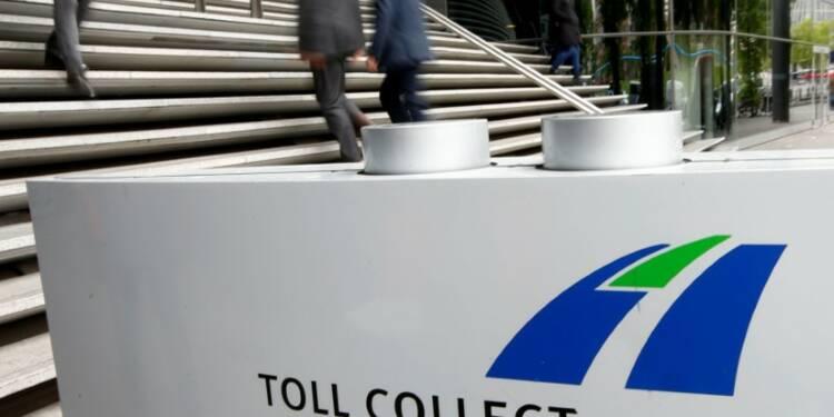 Le consortium Toll Collect va verser 3,2 milliards d'euros à l'Allemagne