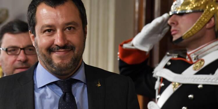 """Italie: Salvini juge """"inacceptables"""" les avertissements de Le Maire"""