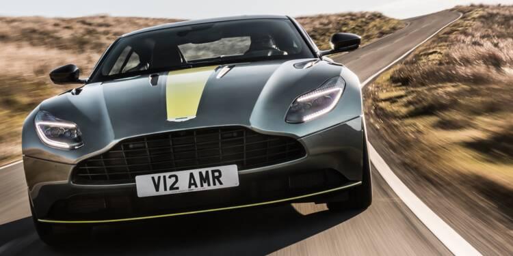 Nouvelle Aston Martin DB11 AMR 2018
