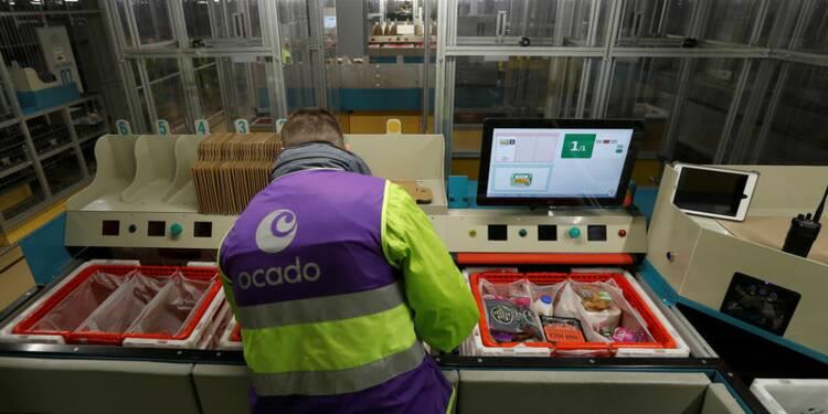 Ocado s'envole en Bourse après une alliance avec Kroger