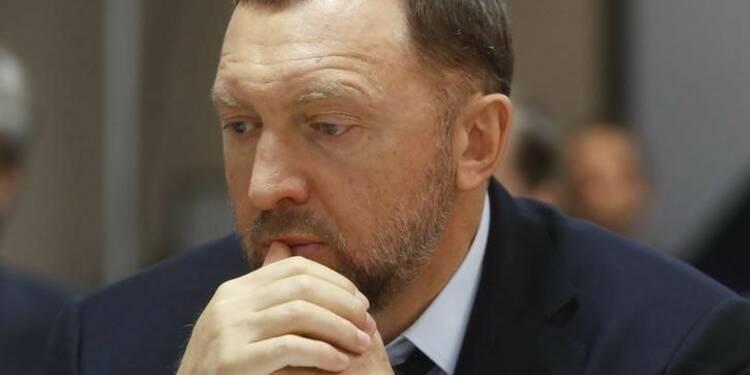 L'oligarque russe Deripaska démissionne du conseil d'En+