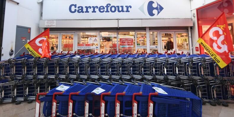 Carrefour : 227 magasins sur 273 restent sans offre de reprise