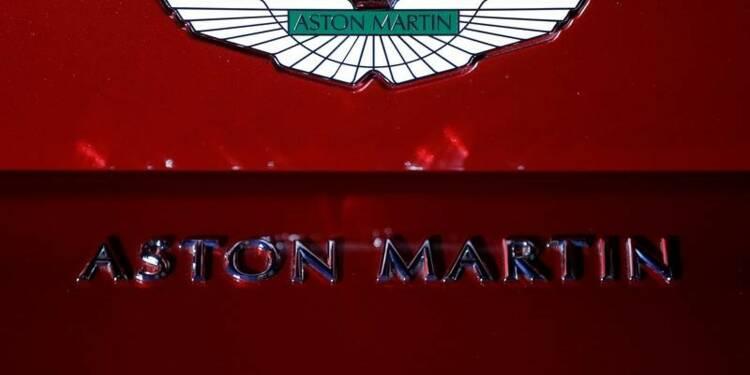 Aston Martin bénéficiaire au 1er trimestre avant une possible IPO