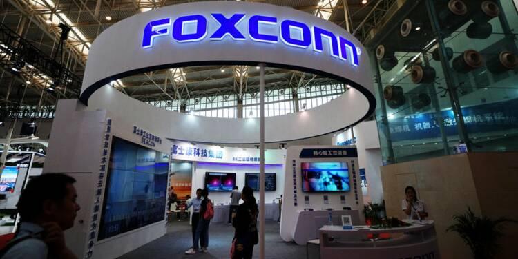 Une filiale de Foxconn prépare une IPO de 3,6 milliards d'euros