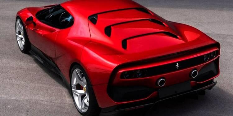 Ferrari SP38 : une pièce unique faite sur mesure pour un riche client!