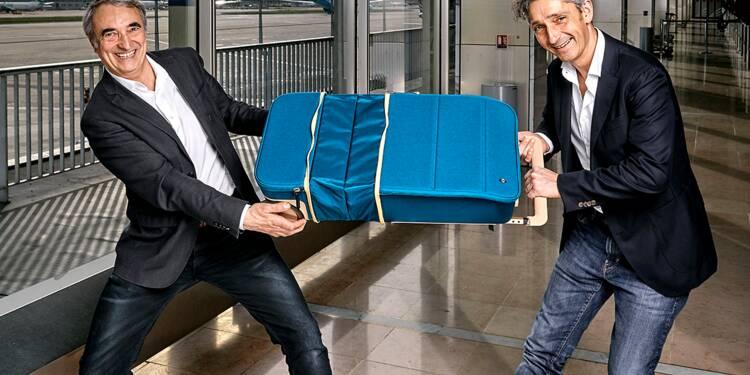 Xtend, la valise high-tech qui grandit de 50% en un clin d'oeil