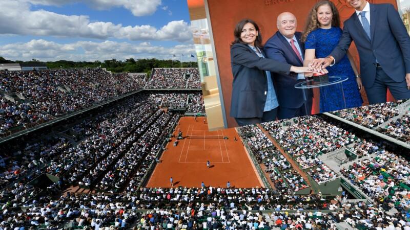 Découvrez le nouveau site de Roland Garros… et les futurs aménagements prévus