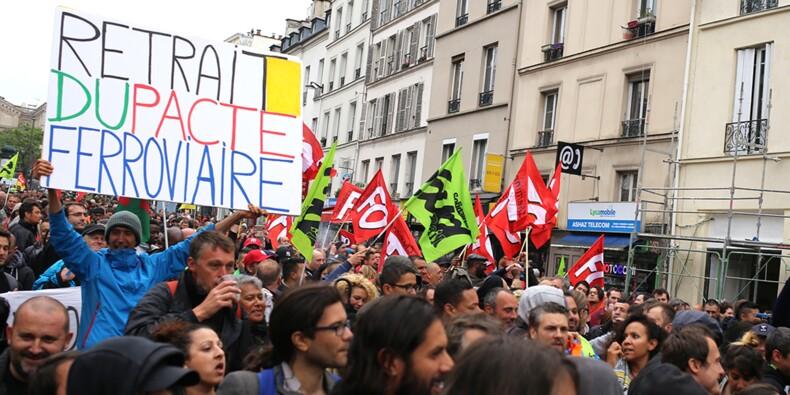 Sondage exclusif YouGov : Les Français très largement contre la retraite anticipée des cheminots