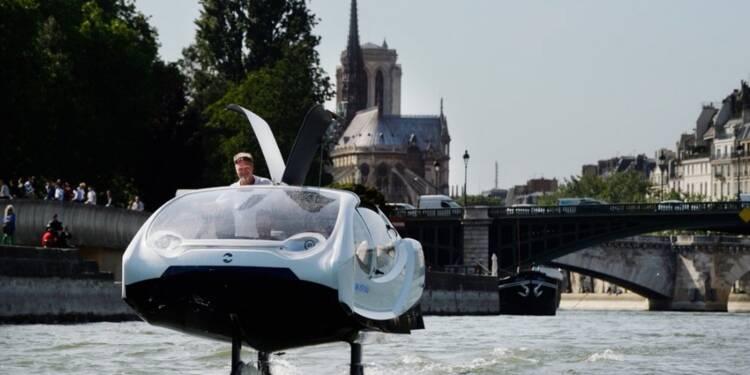 Uber a tenté de racheter les taxis volants SeaBubbles