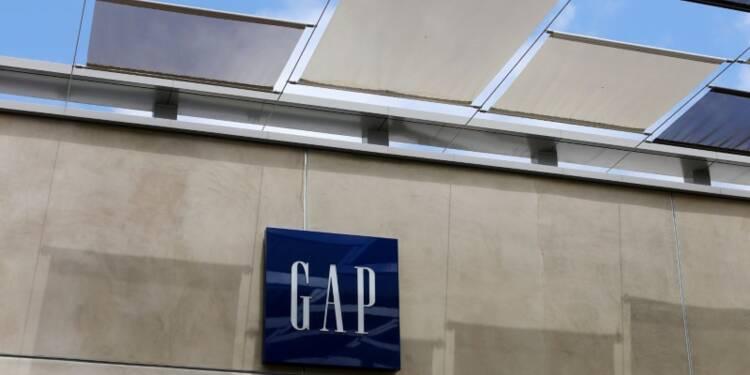 Gap manque le consensus au 1er trimestre, le titre chute