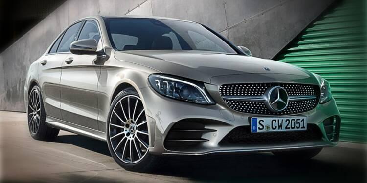 Mercedes Classe C, dont l'actuelle version est particulièrement concernées selon les médias allemands