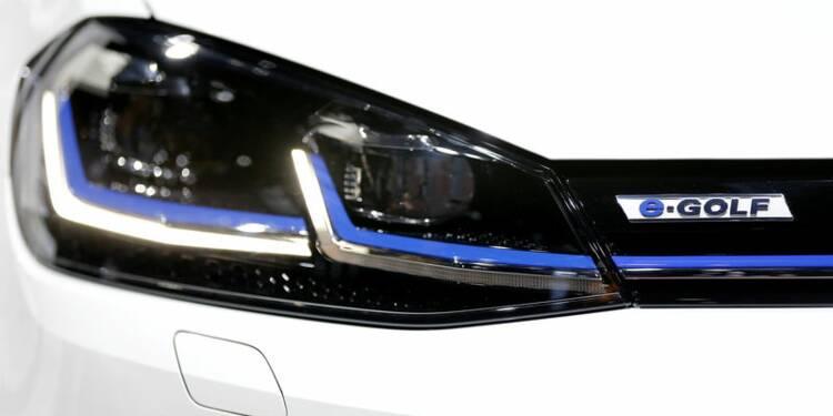 VW pense dépasser le million de voitures électriques vendues