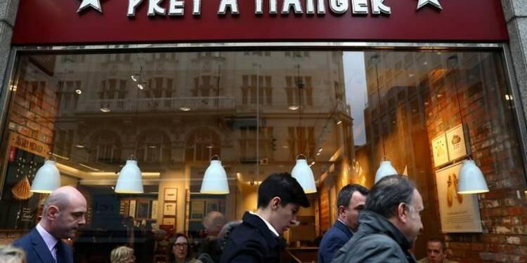 Grande-Bretagne: JAB acquiert la chaîne de sandwiches Pret A Manger