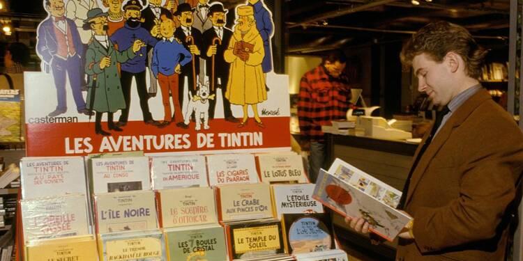 Deux planches de Tintin adjugées pour un montant astronomique