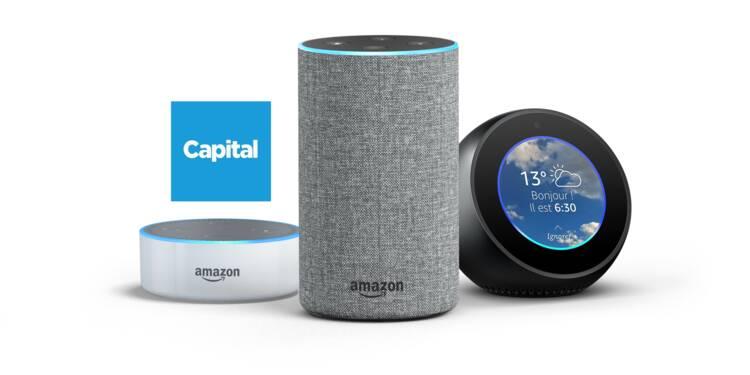 Amazon lance ses enceintes Echo en France, avec Capital au menu