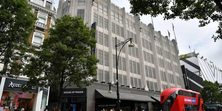 GB: la chaîne de grands magasins House of Fraser va se déclarer en faillite