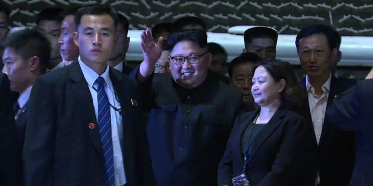 Kim Jong Un s'offre une virée nocturne à Singapour