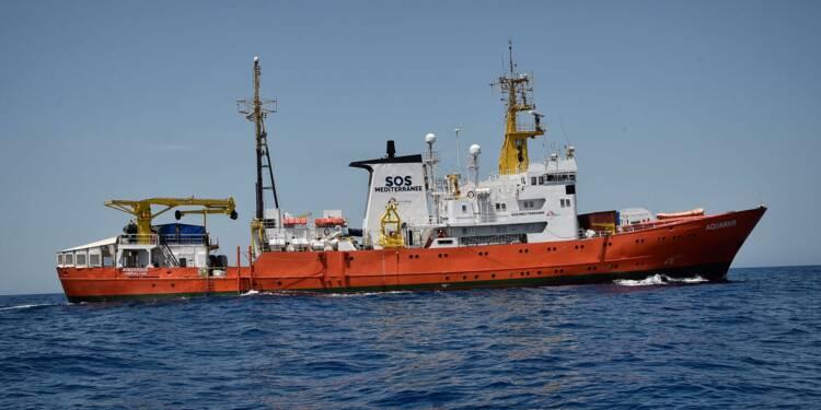 """Des """"morts annoncées"""" en mer en l'absence de l'Aquarius, prévient SOS Méditerranée"""