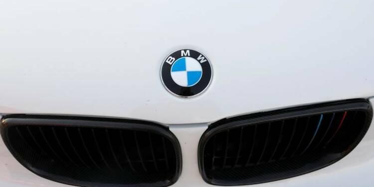 BMW a subi une baisse de ses ventes mondiales en mai