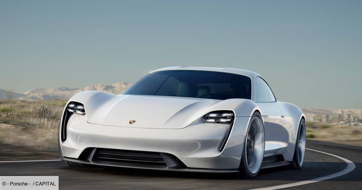 Porsche Taycan : tous les secrets du premier modèle électrique de la marque - Capital.fr