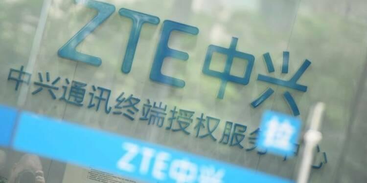 ZTE plonge en Bourse après l'accord avec les USA