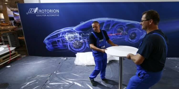 L'équipementier auto allemand IFA Rotorion cherche un acquéreur