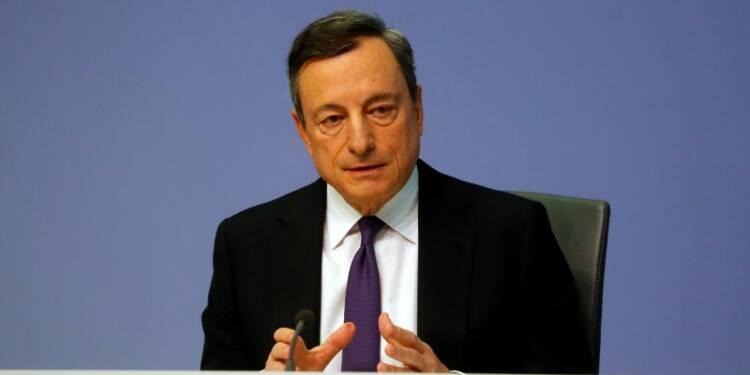 Principaux extraits de la conférence de presse de Mario Draghi