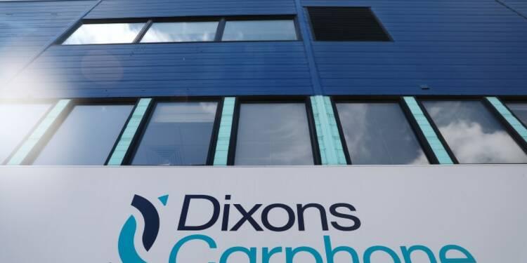 Dixons Carphone victime d'un piratage informatique, le titre baisse