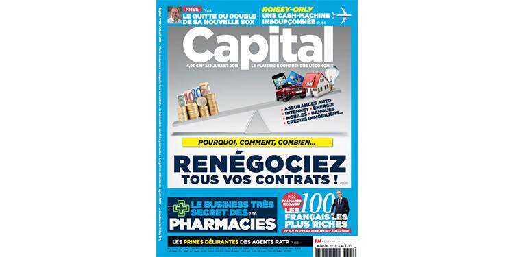 Vos magazines Capital, en vente ce mois-ci