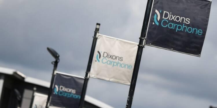 Dixons Carphone confirme la baisse de ses résultats