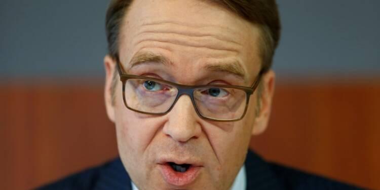 BCE: Il était important de lancer la normalisation selon Weidmann
