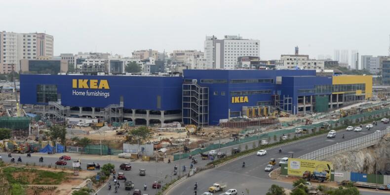 """Ikea se lance en Inde... mais sans ses célèbres """"boulettes suédoises"""""""