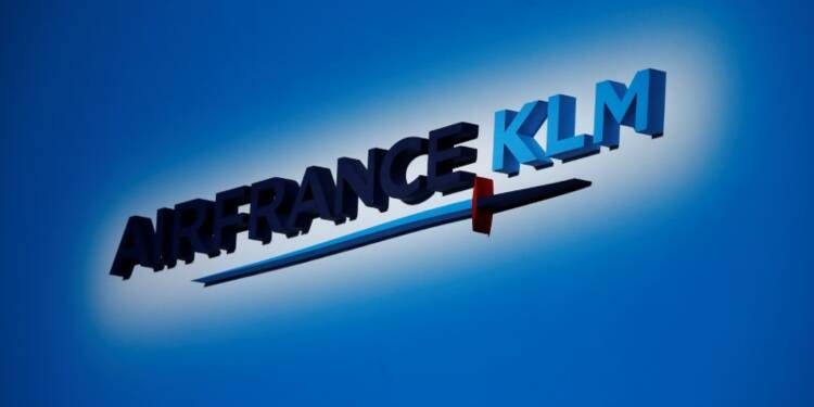 Le flou sur le futur PDG pèse sur Air France-KLM en Bourse