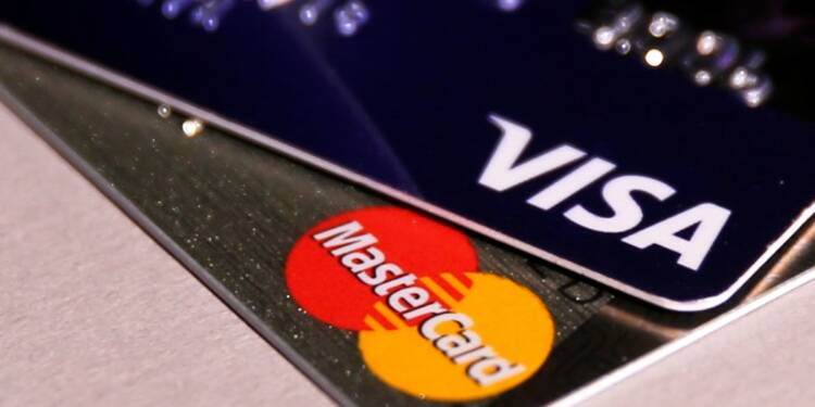 Visa, Mastercard proches d'un réglement sur les commissions selon le WSJ
