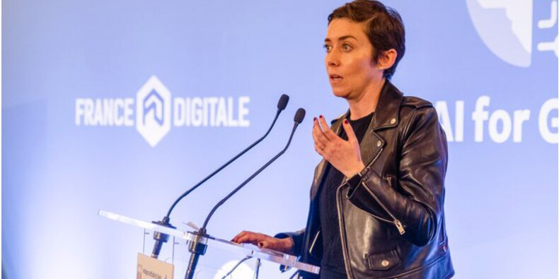 Le Twitter de Rachel Delacour, co-présidente de France Digitale