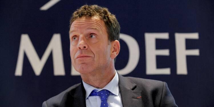 Medef : le favori à la présidence ne connaît pas le montant du Smic