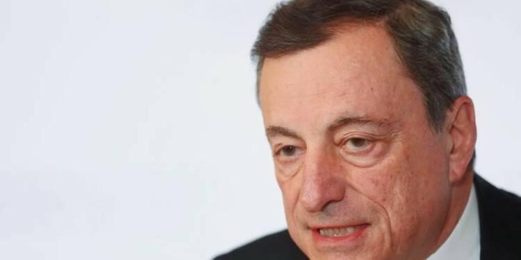 Draghi redoute les effets économiques des tensions commerciales