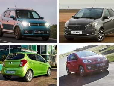20 voitures neuves parmi les moins chères en France