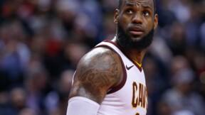La superstar de la NBA LeBron James signe un contrat faramineux