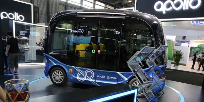 Baidu, le Google chinois, lance des minibus autonomes