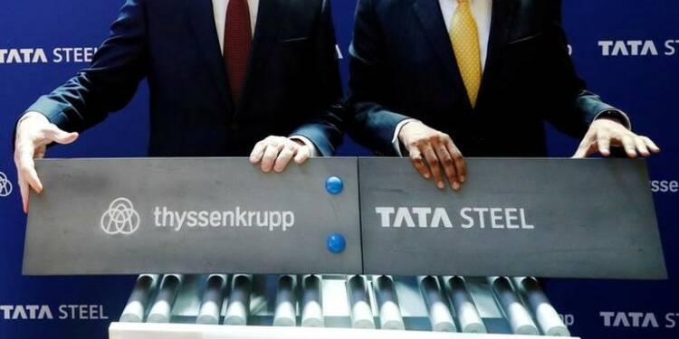 Thyssenkrupp va poursuivre sa réorganisation après l'accord avec Tata