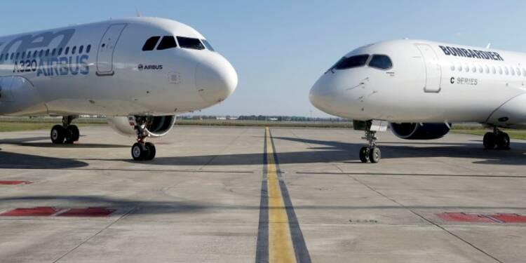 Airbus attend les premiers résultats de l'accord CSeries à Farnborough