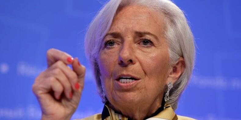 Lagarde (FMI) juge indispensable un budget commun de la zone euro